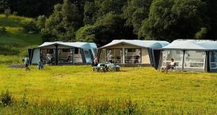 Camping Satellitenschüssel